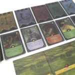 PHOTO - Monarch game cards and board
