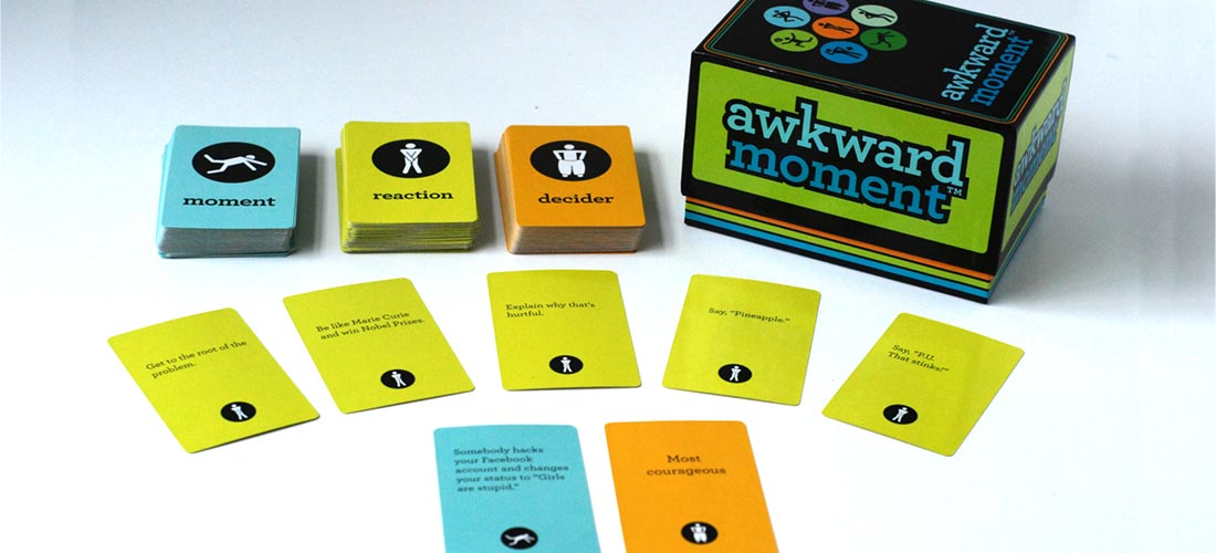 awkward moment - game components