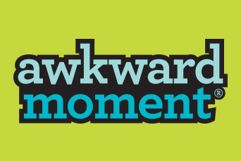 Awkward Moment - card game logo