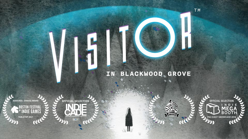 VISITOR in Blackwood Grove - awards slide
