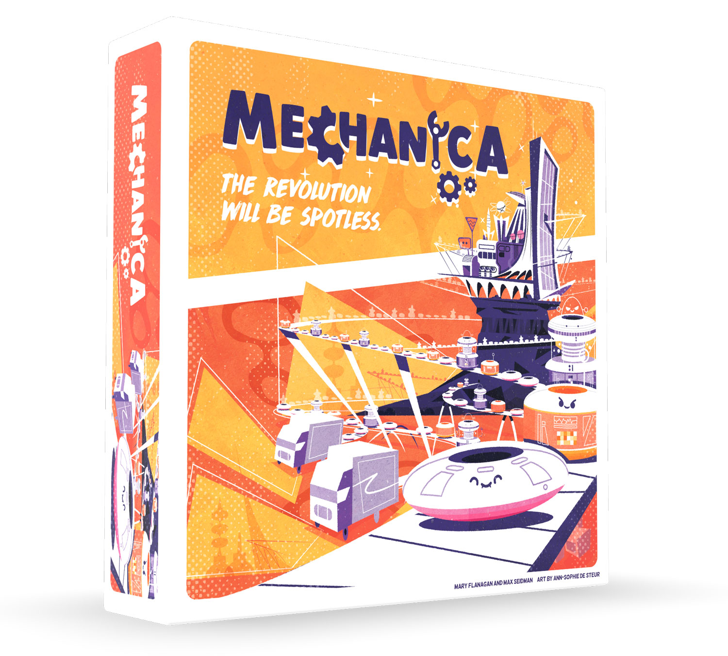 Mechanica box mockup