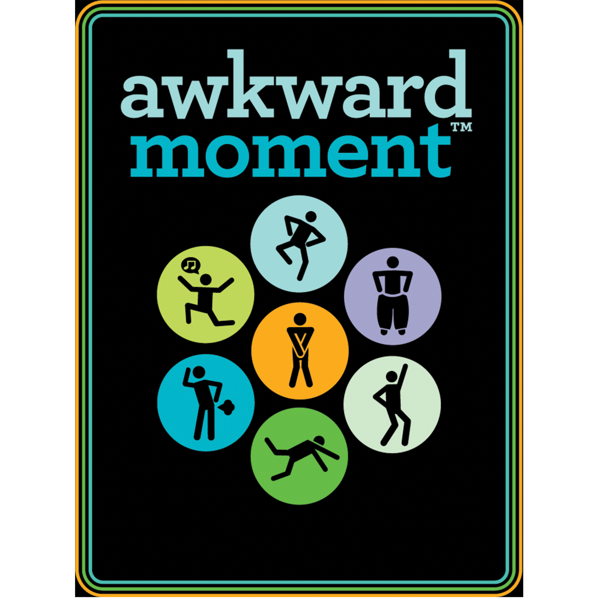 Awkward Moment at Work party card game - Game box