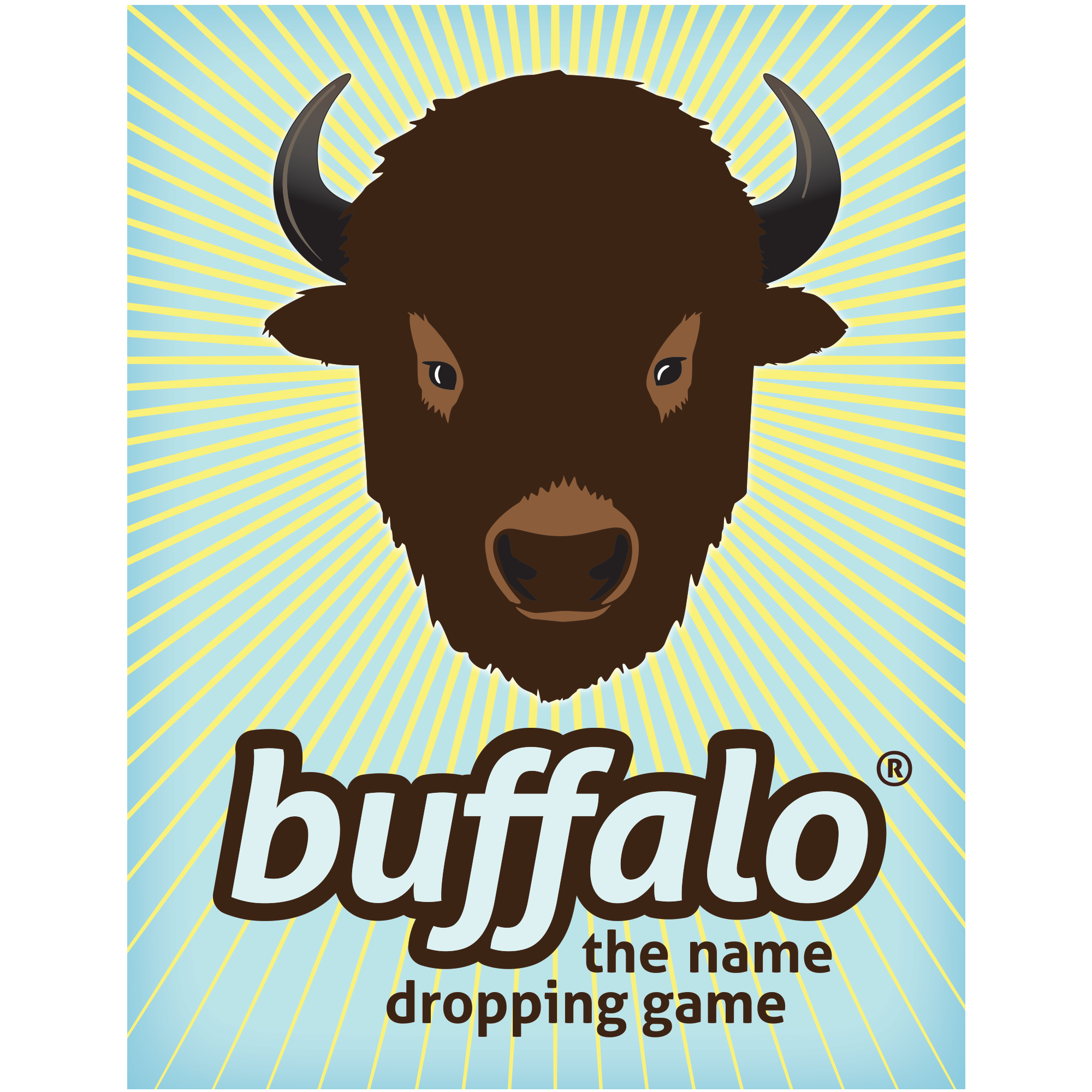 buffalo card game - photo of game box