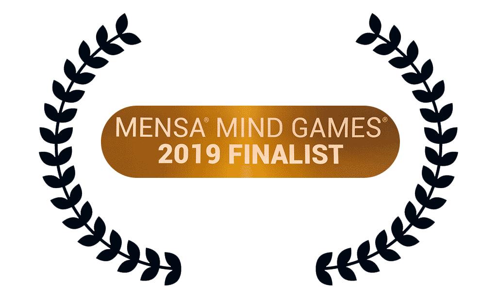 award - mensa competitor - 2019